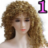 Wig 01: Brown Curly Hair