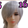 Wig 16: Short White Pixie